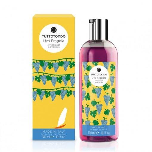 Uva Fragola Gel doccia antiossidante 300 ml