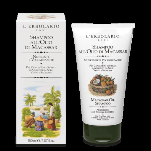 Shampoo all'Olio di Macassar 150 ml