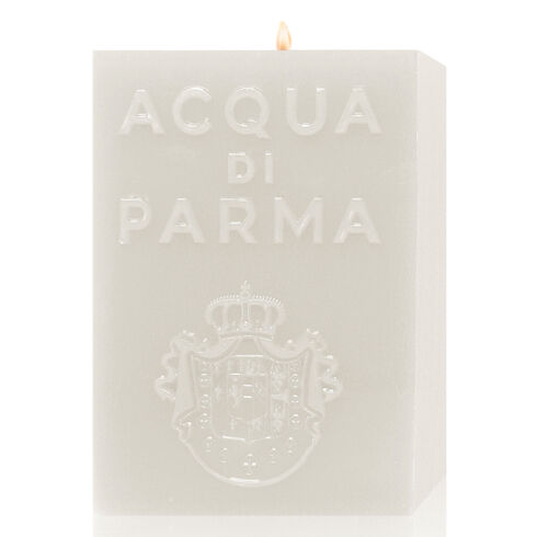 PERFUMED CANDLE WHITE CUBE