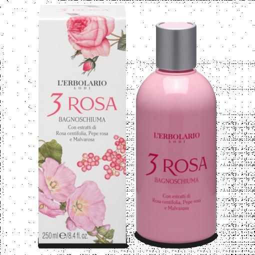 3 Rosa Bagnoschiuma