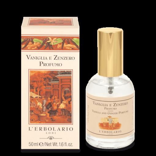 Vaniglia e Zenzero 50 ml