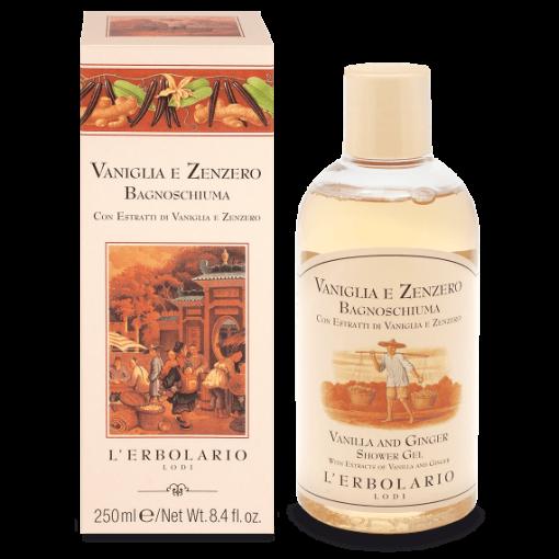 Vaniglia e Zenzero Bagnoschiuma 250 ml