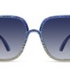 Eleanor Blu Occhiale da Sole