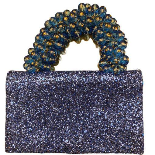 Clutch Pochette da Polso Blu